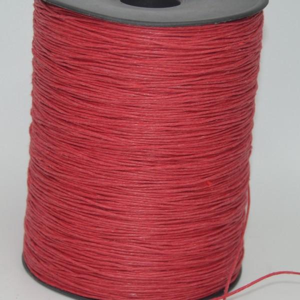 1mm Büküm Mumlu Yerli İp Kırmızı